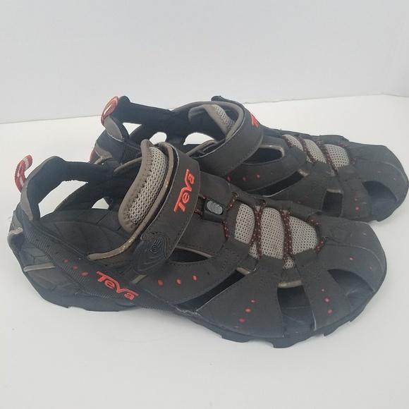 9a5048b94119 Teva Brown Tan Duster Sport Sandals Sz 11. M 5b824a1f1b329477a623a6fe